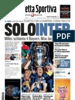 Gazzetta dello Sport - 23 Maggio 2010