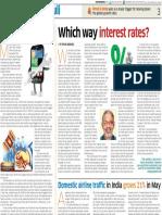 21. Which Way Interest Rates 11 Jul 16