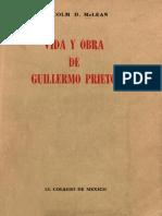Vida y Obra de Guillermo Prieto