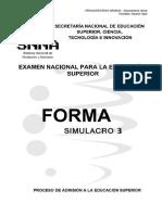 Verbal - Forma 3 Simulacro