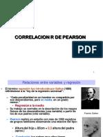 Regresión y Correlacion R de Pearson 2016