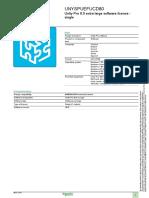 Unity Pro Software UNYSPUEFUCD80