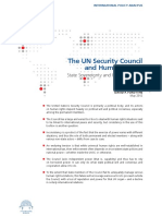 UN security council + HR