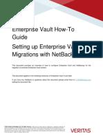 Enterprise Vault HowTo Migrating Archived Enterprise Vault Content to Veritas NetBackup (January 2016)