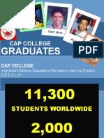 Cap College Graduates