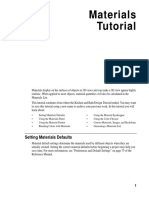 Chief Architect x8 Users Guide Materials Tutorial