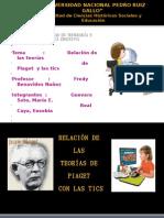 Trabajo Sobre Las Tics y Jean Piaget
