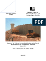 Report 06 [PCBS-BADIL -- Impact of the Wall]