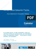 Cisco Datacenter and Virtualisation Strategy