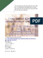 Tiếng Hàn Qua Bài Hát Beni - Am 200