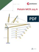 Grua LM Potain MCR225A