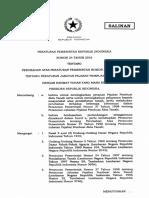 PP 24 Tahun 2016 Ttg Perubahan Atas PP No 37 Tahun 1998 Ttg Jabatan PPAT