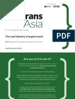 Coaltrans Asia Brochure 2016