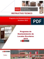 Programa Infraestructura