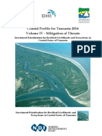 Coastal Profile Volume IV - Mitigation of Threats Mainland Tanzania and Zanzibar Combined