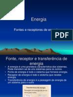 Energia - 1 - Fontes e Receptores de Energia