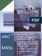 4. Erythrocyte Antigens & Antibodies