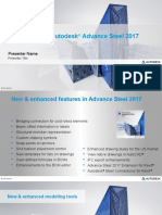 Advance Steel 2017 Whats New Presentation.pptx