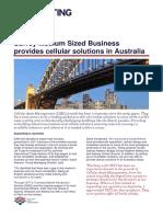 Cellular Asset Management Case Study