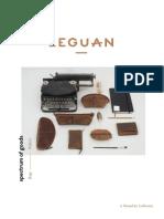 Leguan Katalog 2016/2017