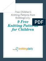 knitting pattern for kidswear