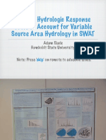 Defining Hydrologic Response Units to Account for Variable Source Area Hydrology in SWAT