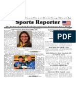 July 13 - 19, 2016  Sports Reporter