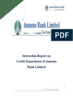 Internship Report on Credit Dept. of Jamuna Bank Ltd