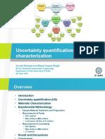 Uncertanity quantification