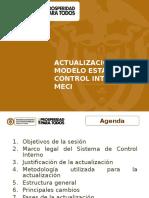 Actualización Meci Presentacion General