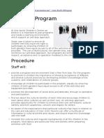 procedures in ey