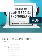 Breaking Into Commercial Photography