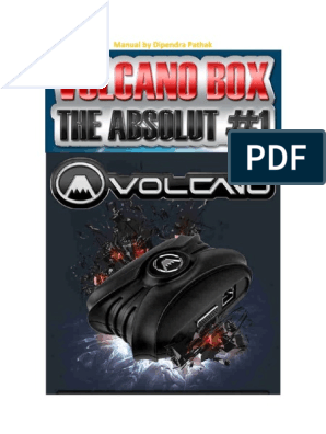 The Volcano and the ultimati Manual Revised pdf | Usb
