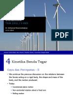 Dinamika - 4 Kinetika Benda Tegar - Gaya Percepatan II