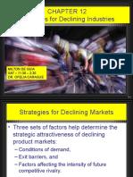 Strategies of Declining Industries