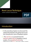 Root Locus Technique
