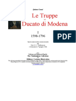 Quinto Cenni Modenese Troops 1. 1598-1796
