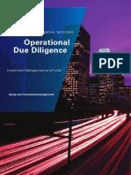 Operational Due Dilligence v2