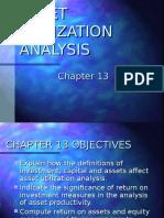 asset utilization analysis