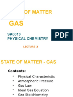 State of Matter-gas)