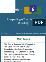 Chapter 6a Prospecting - The Lifeblood of Selling