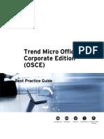 Trend Micro OfficeScan Corporate Edition (OSCE)