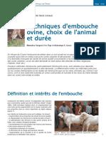 F13 Embouche Ovine