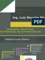 Clase 4. Energia Solar Termica