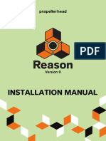 Reason 9 Installation Manual