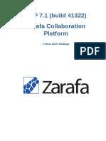 Zarafa Collaboration Platform 6.40.0 Python Language Binding en US