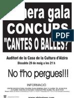 Cantes ó Balles? 2010