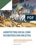 Arquitectura Social como Reconstrucción Subjetiva