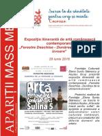 "Expozitia itineranta ""Ferestre Deschise - Dunarea de la varsare la izvoare"""