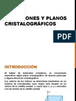 Direcciones y Planos
